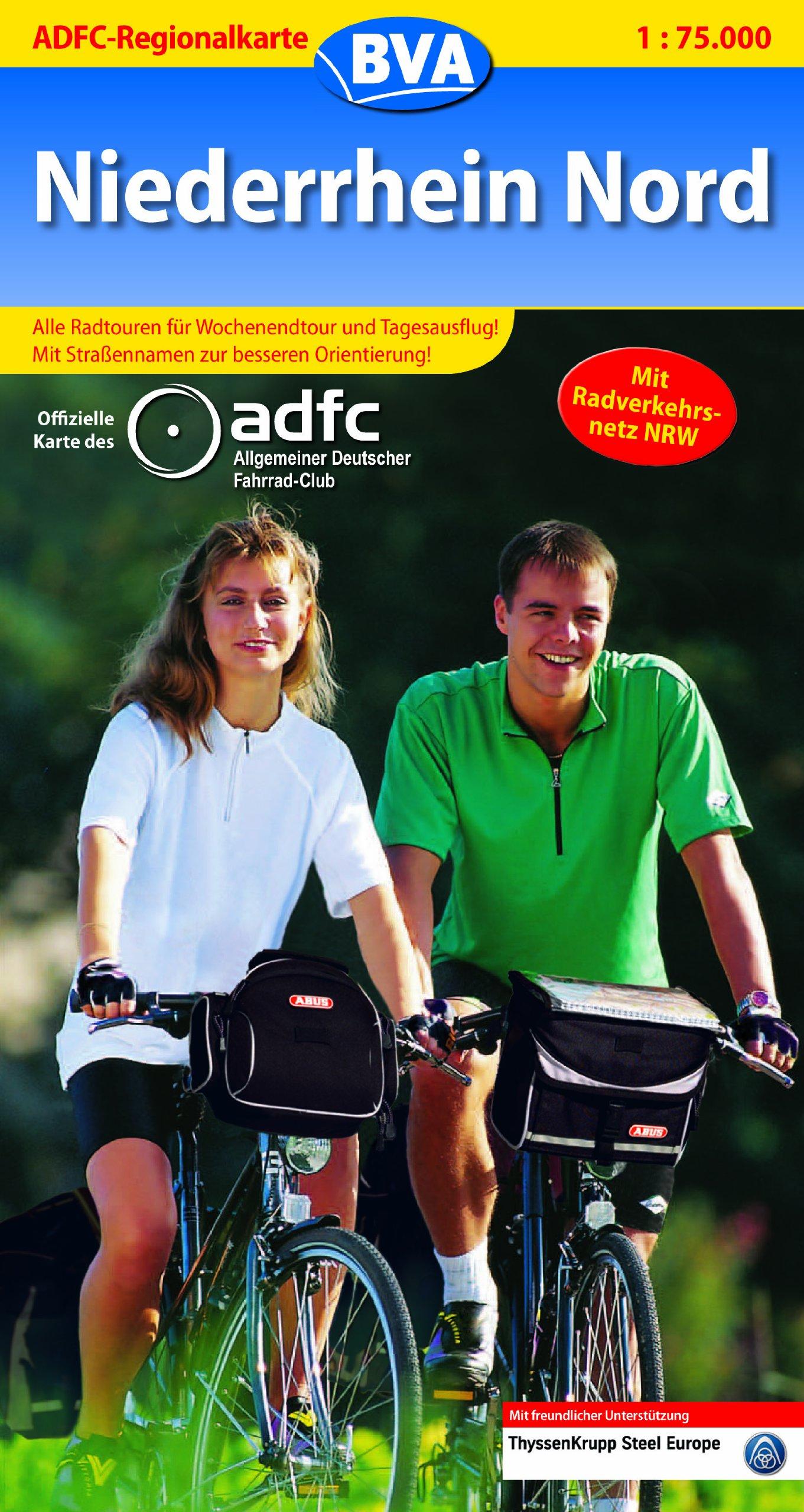 ADFC-Regionalkarten, Niederrhein Nord