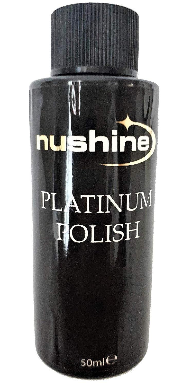 Nushine Platinum Polish 50ml - eco-friendly formulation