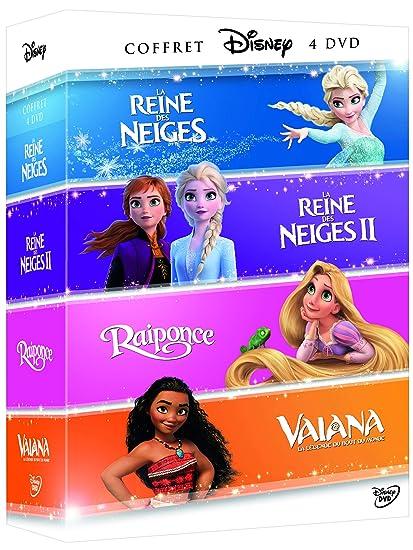 Vaiana, la légende du bout du monde + La Reine des neiges + ...