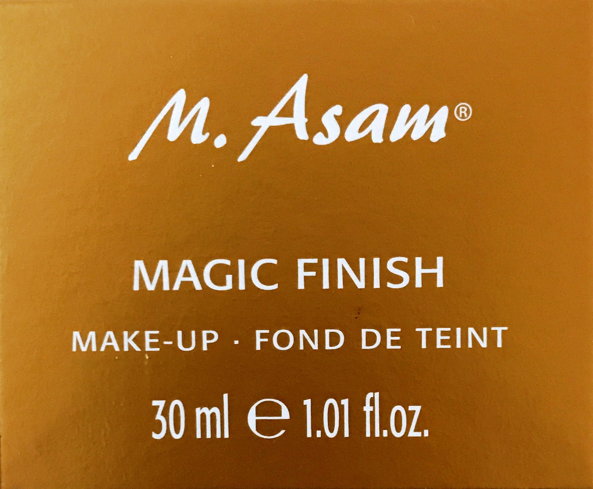 M. Asam Magic Finish ~ Lightweight, wrinkle-filling makeup mousse 1.01 fl. oz by Masam (Image #1)