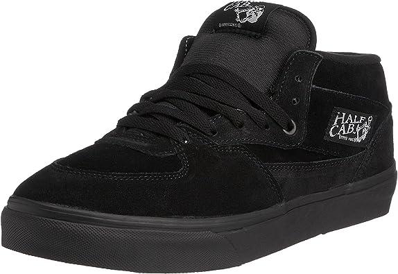 Vans Half Cab Pro Skate Shoe Men's BlackBlack, 8.0