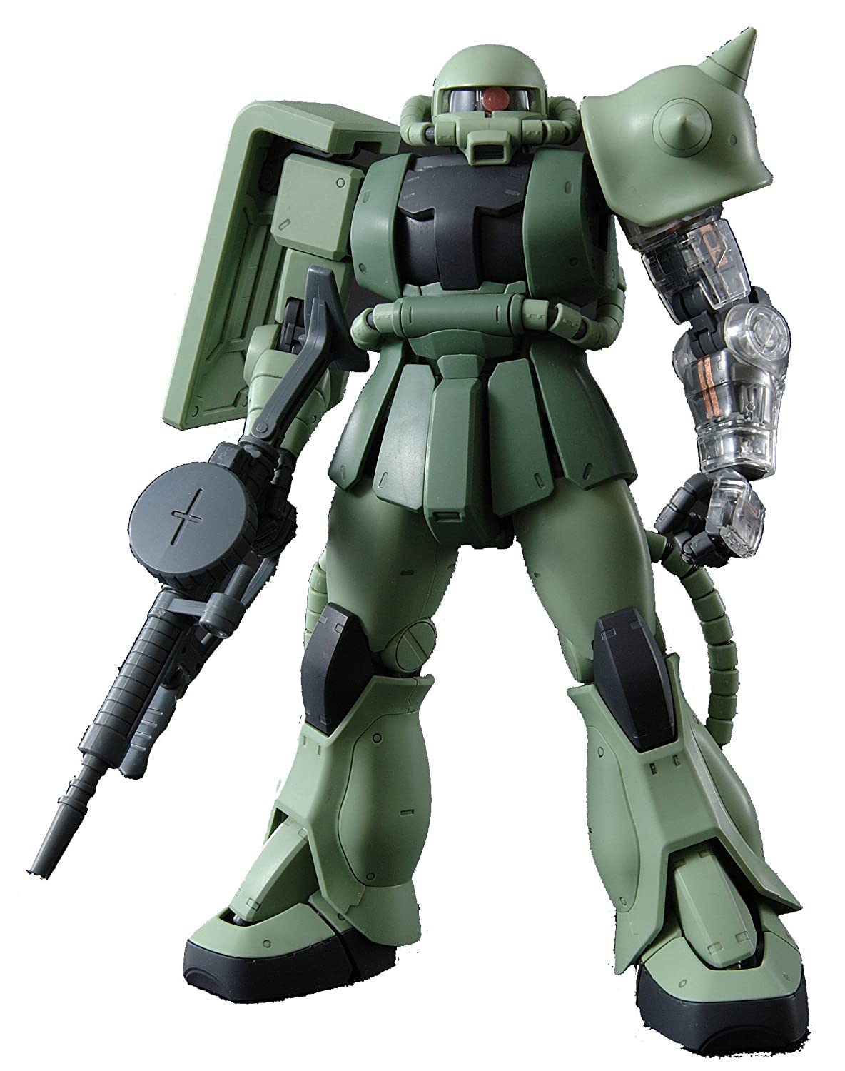 Gundam MS-06J Zaku II Ver.2.0 with Extra Clear Body parts MG 1/100 Scale (japan import)