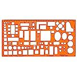 Standardgraph ST7343 - Möbelierungsschablone Architekt Maßstab 1:50