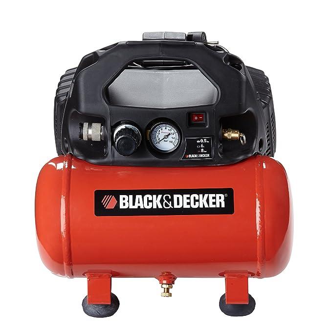 Black and Decker 1795 - Compresor con tanque de 5 L, sin aceite: Amazon.es: Bricolaje y herramientas