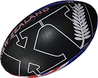 100% RUGBY BALLON de rugby New Zealand - Collection supporter - Nouvelle Zelande - Taille 5