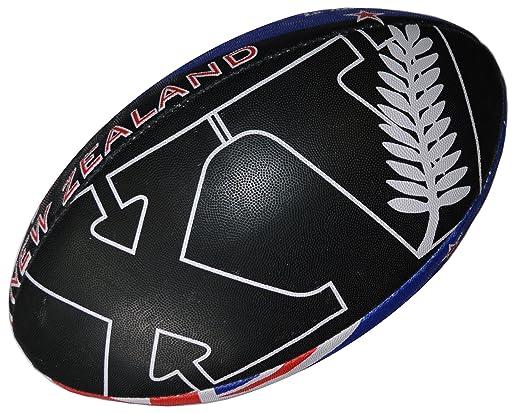 2 opinioni per All Blacks- Pallone da rugby della collezione ufficiale Squadra Nazionale di