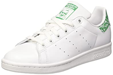 new product e9731 1b03b adidas Damen Stan Smith W Joggingschuhe Bianco