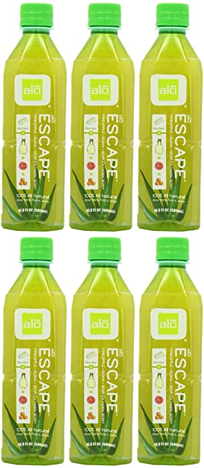(6 PACK) - Alo Alo Escape - Aloe Pineapple Guava.Seabuckthorn | 500ml