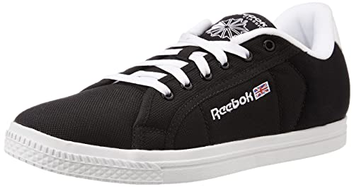 808e32458f0a Reebok Classics Men s Court Black and White Sneakers - 10 UK India (44.5 EU