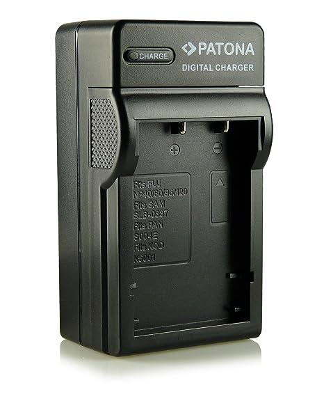 3in1 Cargador NP-95 NP95 para Fuji Fujifilm FinePix F30   F-30   F31   F-31   F31fd   F-31fd   X100   X100s   X-S1   FinePix Real 3D W1 y mucho más…
