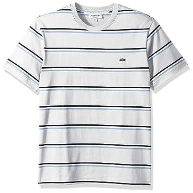 5e41c9f0 Lacoste Men's S/S Striped Jersey T-Shirt | Amazon.com