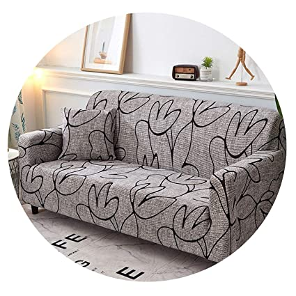 Amazon.com: No Buy No Bye Geometric All-Inclusive Sofa Cover ...