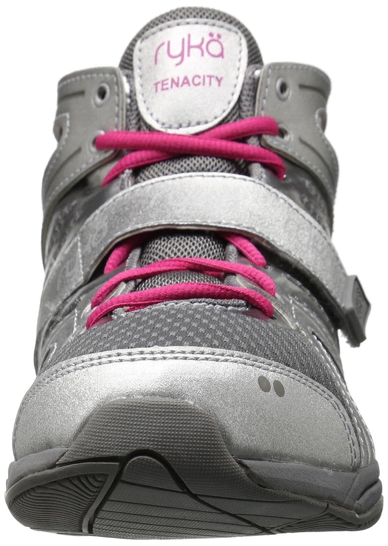 Ryka Women's Tenacity Cross-Trainer Shoe B01CR9FZCE 8.5 B(M) US|Silver