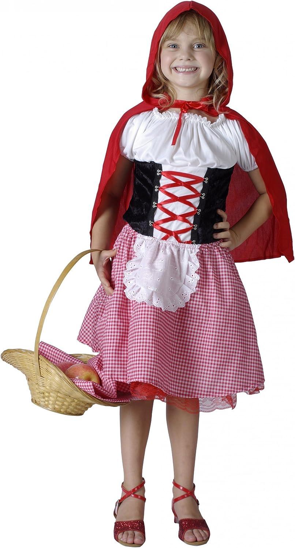 Vegaoo - Disfraz de Caperucita Roja para niña - M 7-9 años (120 ...