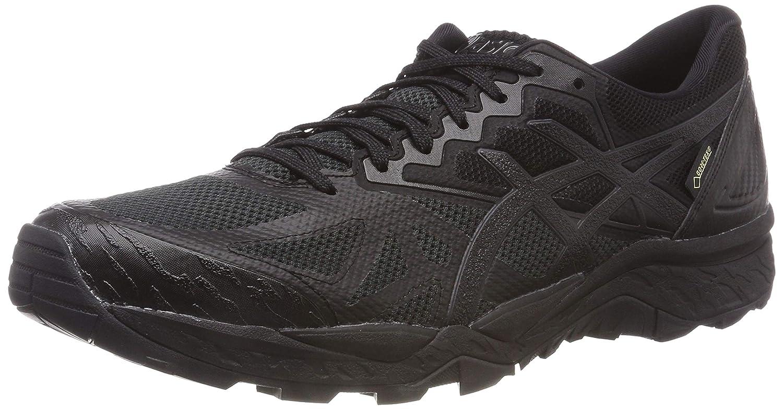 Asics Gel-Fujitrabuco 6 G-TX, Zapatillas de Running para Asfalto para Mujer 41.5 EU|Negro (Black/Black 9090)