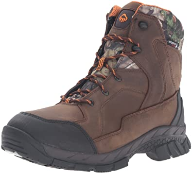 Wolverine Mens Crossbuck LX Insulated Waterproof-M Hunting Boot, Summer Brown, ...
