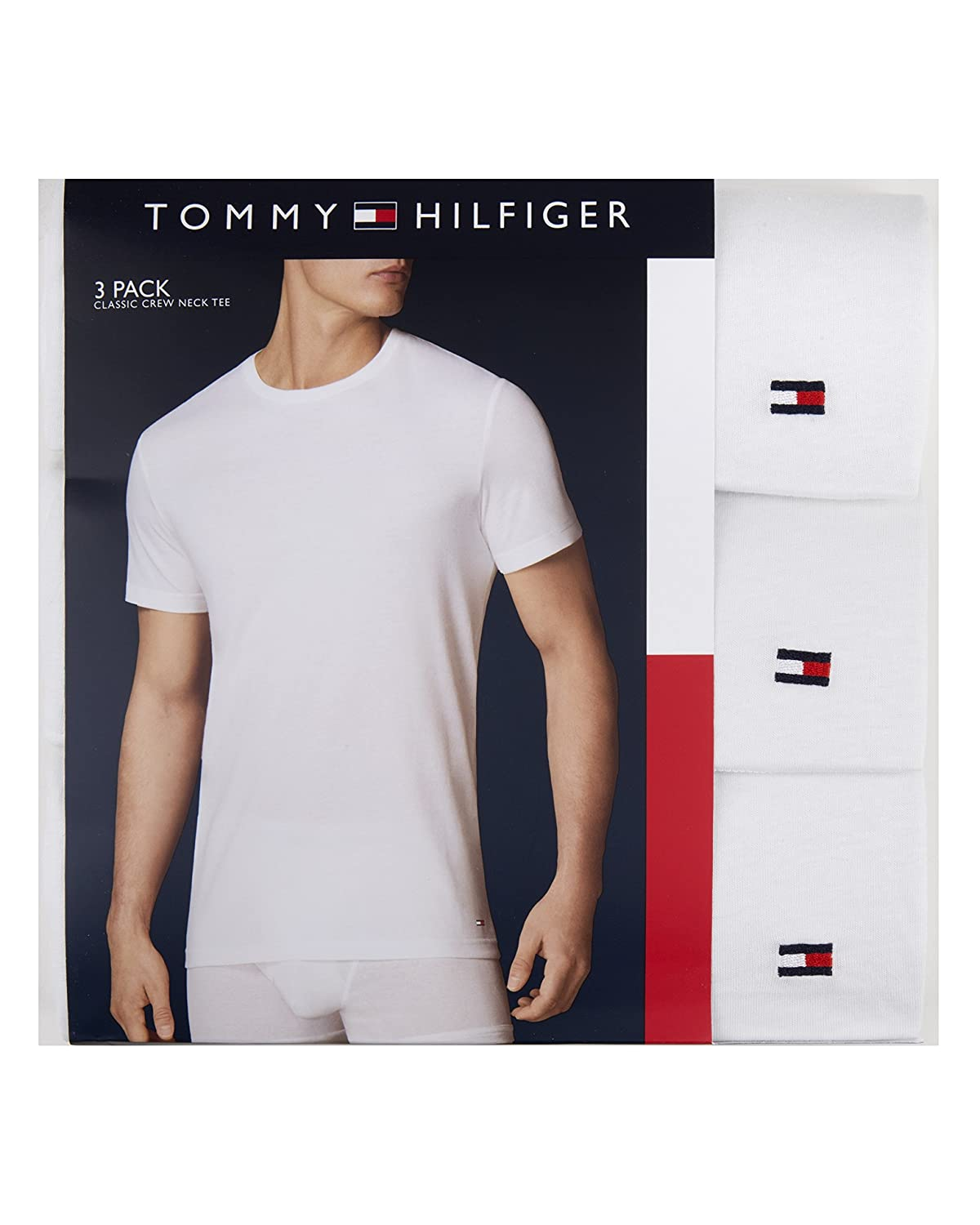New Arrival Fashion Tommy Hilfiger Crew Neck Tee - 3 Pack Visa Payment For Sale Visit EiyHmoVuU