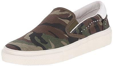 Ash Women's Nikita Bis Fashion Sneaker, Army, ...