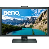 BenQ 31.5 inch 4K Photographer Monitor (SW320), 3840x2160 UHD, HDR, 99% AdobeRGB, 100% Rec.709, DCI-P3, HW Calibration, 14-bit 3D LUT, GamutDuo, HDMI 2.0, Hotkey Puck, 60Hz refresh rate