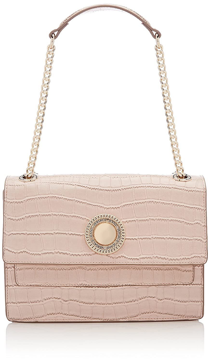 88b3f994b289 Amazon.com  Versace EE1VRBBO8 Light Pink Shoulder Bag for Womens  Shoes