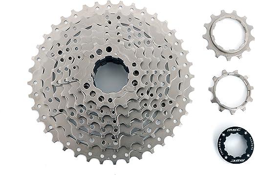 MSC Bikes CSMSC81140 Cassette, Gris, 8V 11-40: Amazon.es: Deportes ...