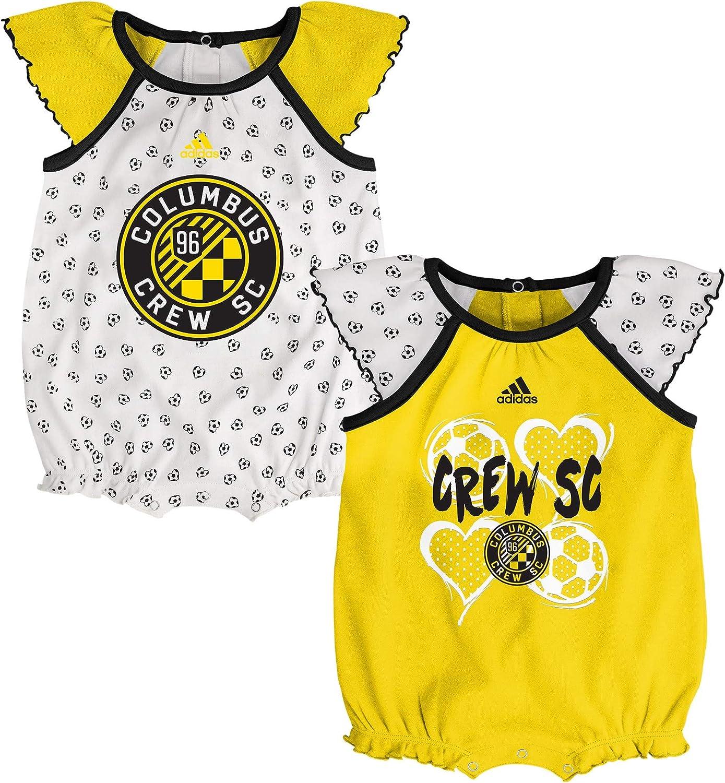 adidas MLS Newborn Tie-Breaker 2Pk Creeper Set, Team Variation: Clothing