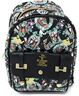 Disney/'s Nightmare Before Christmas 16 inch All Over Print Deluxe Backpack