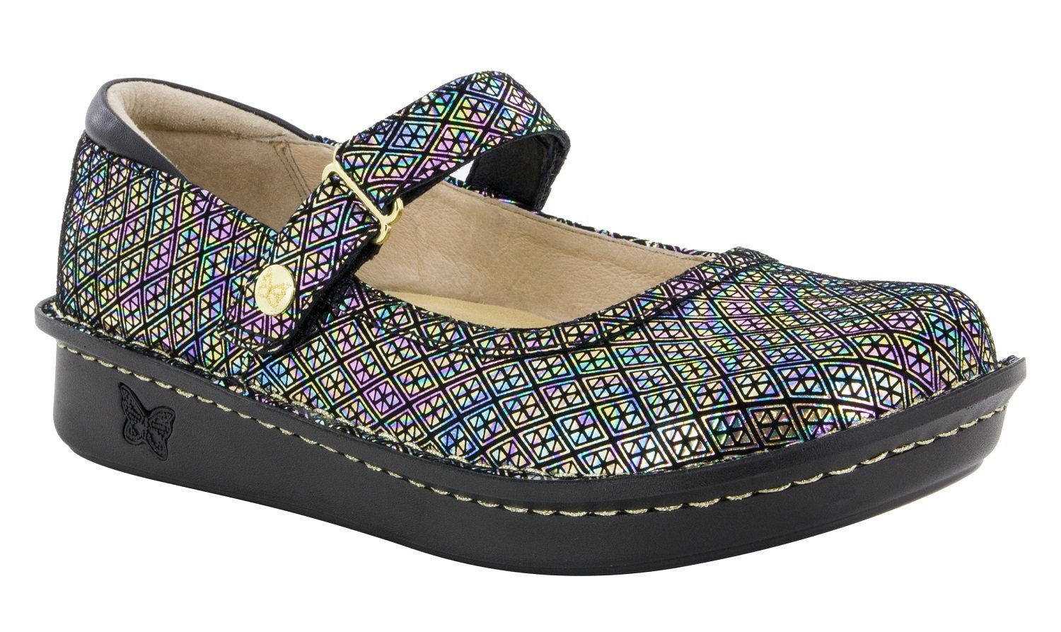 Alegria Women's Belle Mary Jane Flat B075J124SZ 40 M EU|Diamonds Forever