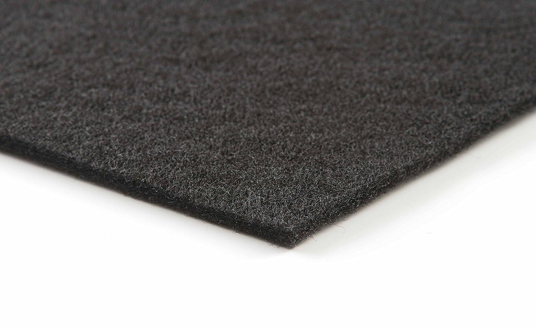 Schwarze Filtermatte fü r Haushalt/Dunstabzug Filterklasse G2. 1 Stü ck//1 x 1 m Fischer Luftfilter