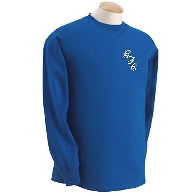 Gillingham FC Gills Club de fútbol estilo retro GFC 69/70 camiseta de manga larga - todos los tamaños: Amazon.es: Deportes y aire libre