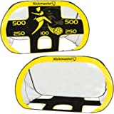 Kickmaster 2 In 1 Fold Away Strong Pop Up Portable Football Target Shoot Goal