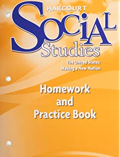 Harcourt school publishers science student edition grade 5 2000 harcourt social studies the united states making a new nation homework and practice fandeluxe Images