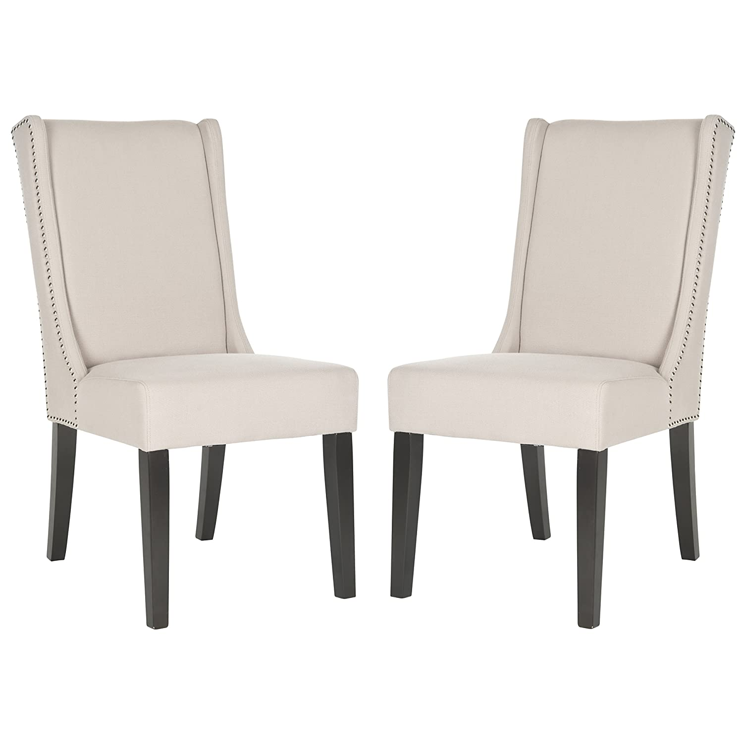 Nice Amazon.com   Safavieh Mercer Collection Sher Side Chair, Taupe, Set Of 2    Chairs