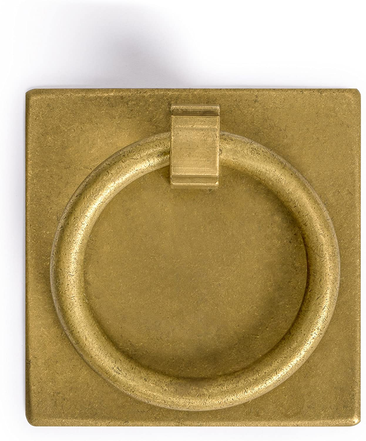 CBH Ring Plate Brass Hardware Pulls 2.3