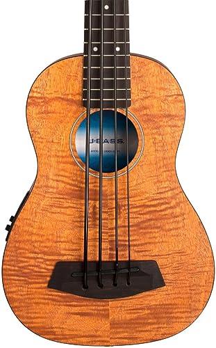 Kala UBASS-EM-FS Exotic Mahogany U-Bass Ukulele