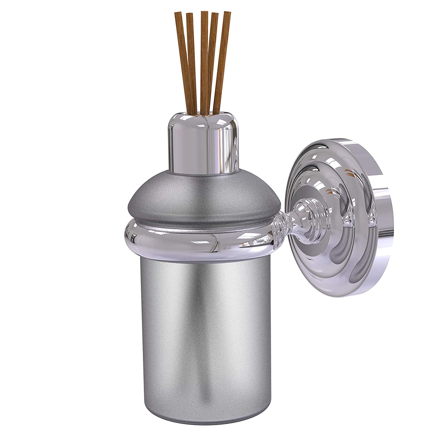 Allied Brass Que Wall Mounted Reed Fragrance Oil Diffuser, 5 Ounce Capacity, Polished Chrome