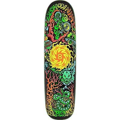 Santa Cruz Winkowski Dope Planet Two Skateboard Deck -8.5 Powerply - Assembled AS Complete Skateboard : Sports & Outdoors
