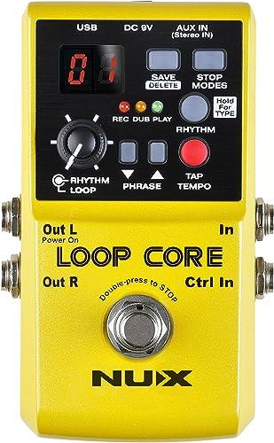 Nux Loop Core Guitar Effect Pedal Looper 6 Hours Recording Time