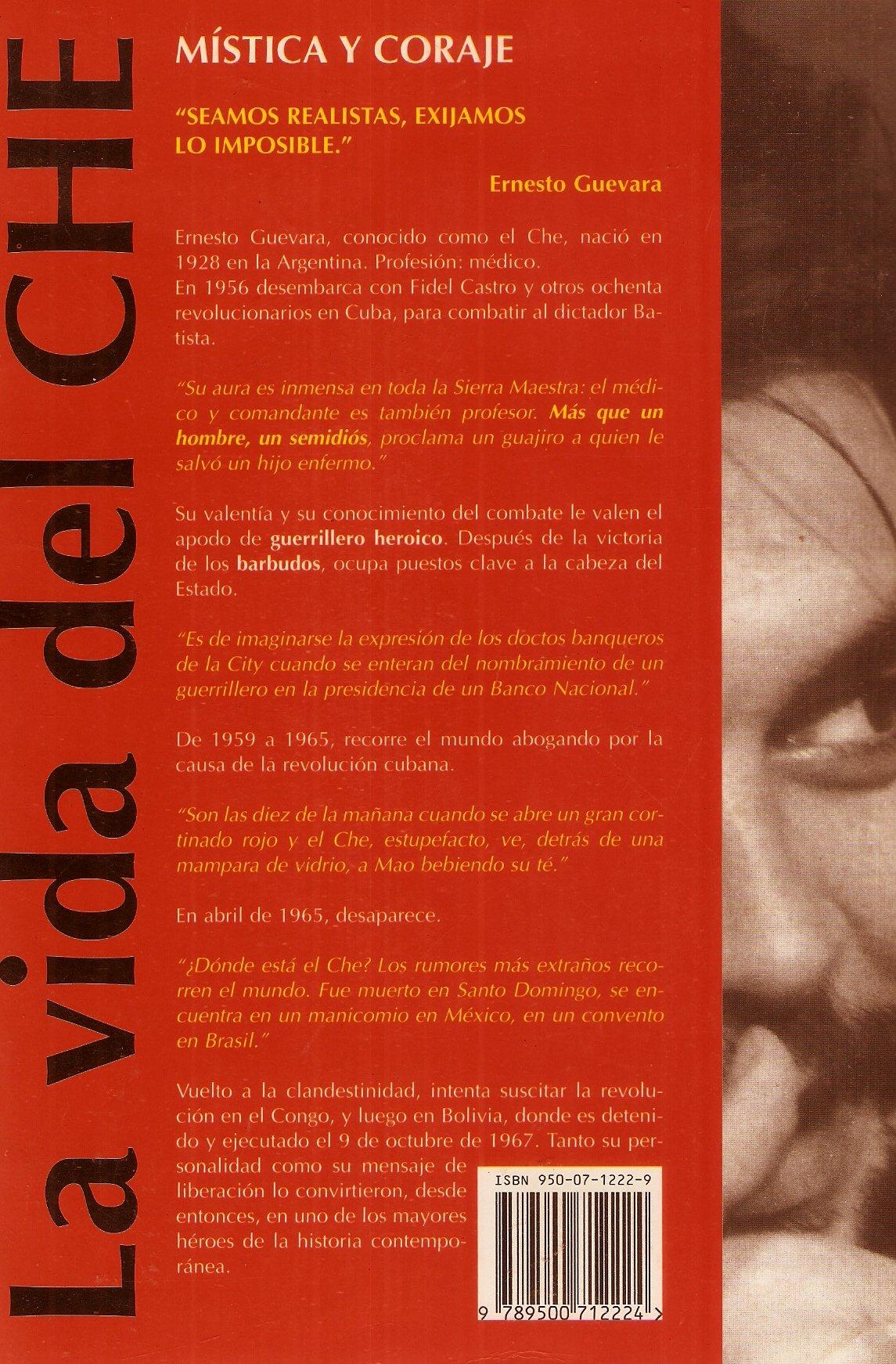 La Vida del Che - Mistica y Coraje: Amazon.es: Cormier, Jean: Libros