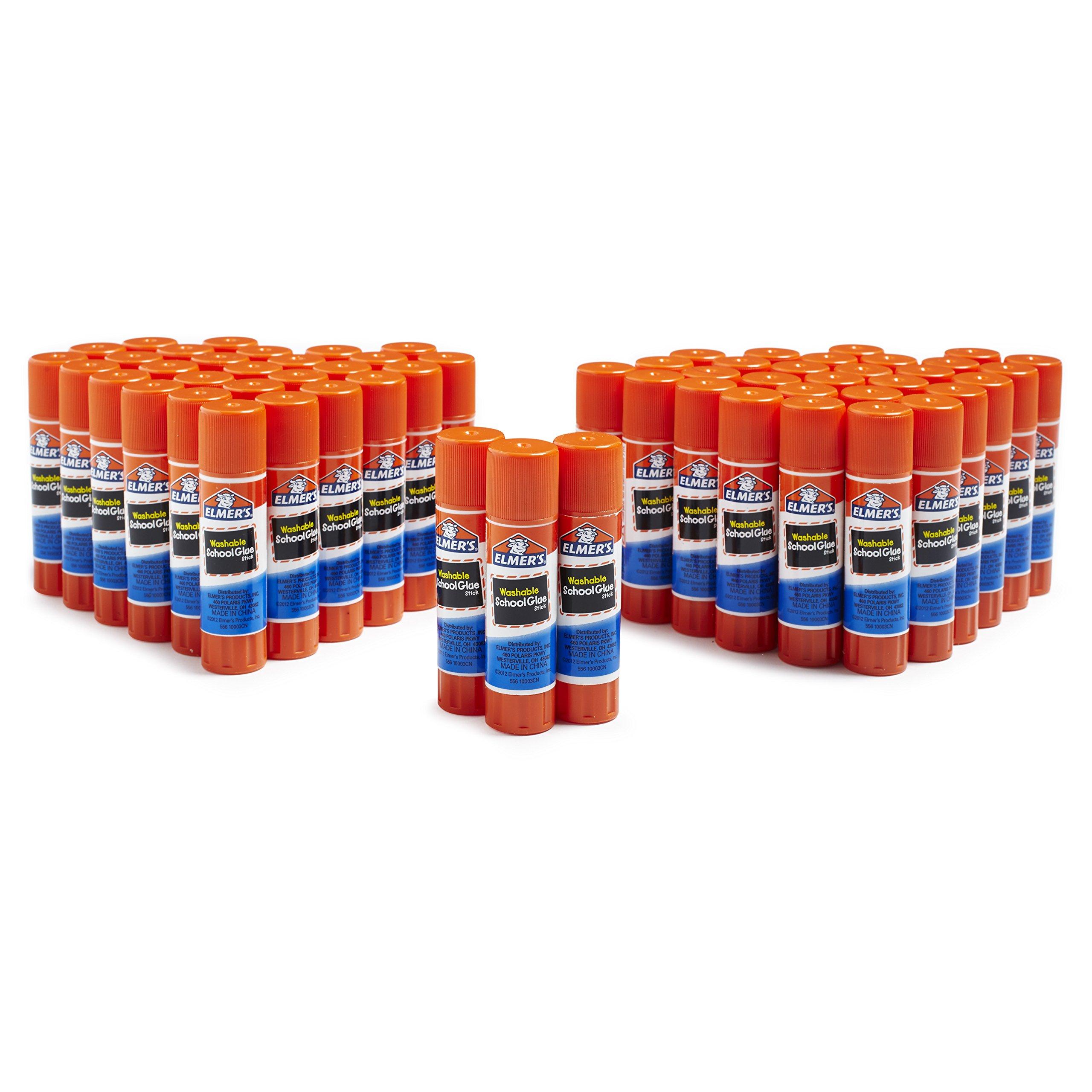 Elmer's All Purpose School Glue Sticks, Washable, 60 Pack, 0.24-ounce sticks by Elmer's (Image #4)