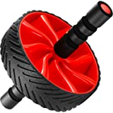 N1Fit Ab Roller Wheel - Sturdy Ab Workout Equipment for Core Workout - Ab Exercise Equipment as Abdominal Muscle toner - Ab e