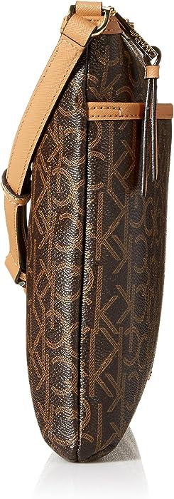 a37c64384f Calvin Klein Hudson Signature Crossbody Flat Pack - Amazon Mỹ | Fado.vn