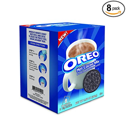 Oreo Hot Cocoa Mix Hot Chocolate Powder 988 Ounce Pack Of 4