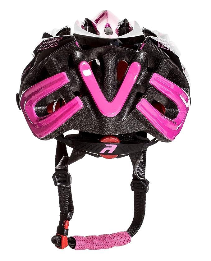 AWE® awebladetm libre 5 Año Crash de repuesto * En molde adulto Señoras Ciclismo Casco 55 - 58 cm), color rosa/negro: Amazon.es: Deportes y aire libre