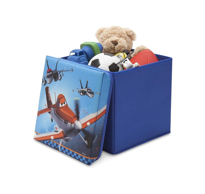 Delta Children TC85768PL - Ottomana con contenitore Disney Planes