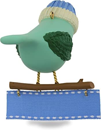 HALLMARK Keepsake 2017 Winter Bird Mom Christmas Ornament NEW
