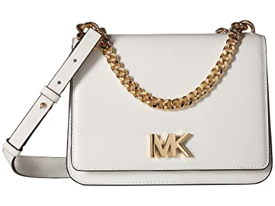 exceptional range of colors hot-selling professional huge sale MICHAEL MICHAEL KORS Mott Leather Crossbody, Optic White ...