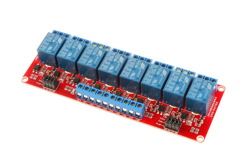 HiLetgo 2pcs HR202 Humidity Sensor Switch Relay Module Control Board DC 5V 1-Channal
