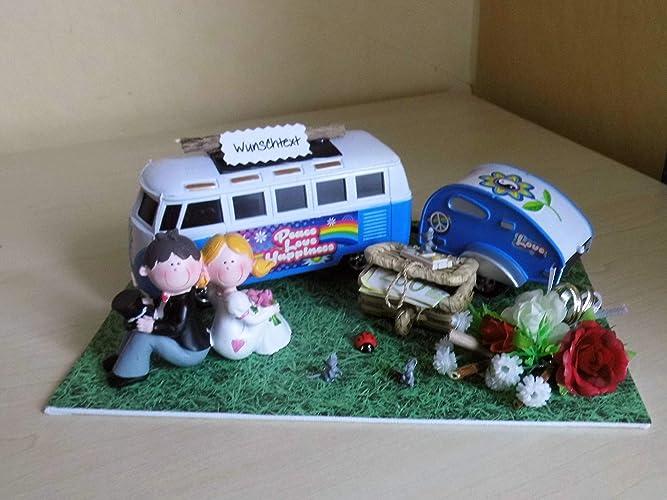 Geldgeschenk Geschenk Nostalgie Zur Hochzeit Wohnmobil Amazon De