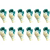 Atlas 310 Grip Multi-Purpose X-Small XS Gardening Nylon Work Gloves, 12-Pairs